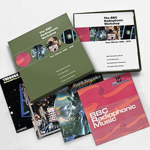 The BBC Radiophonic Workshop Four Albums