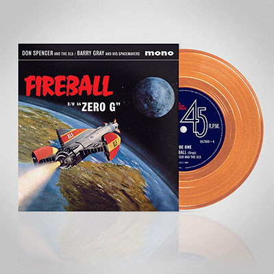 Fireball XL5 7 inch vinyl