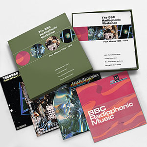 The BBC Radiophonic Workshop Four Albums